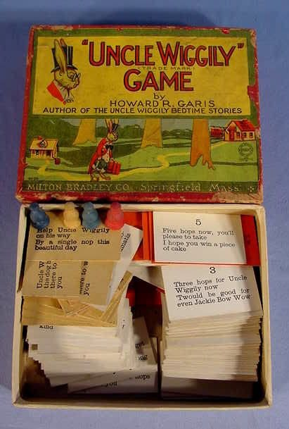 "526: Old Milton Bradley Co. ""Uncle Wiggily"" Game - 4"