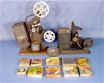 605A Ten16mm Cartoon Films  Two Projectors