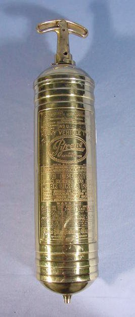 9: Brass Pyrene No.4485445 Fire Extinguisher