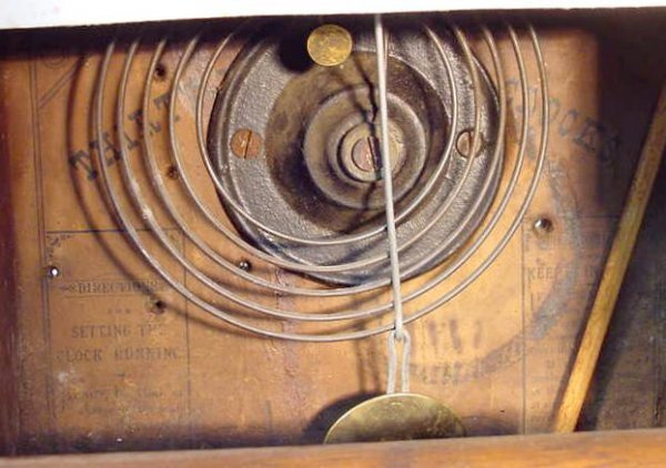 506: Seth Thomas Cottage Clock - 4