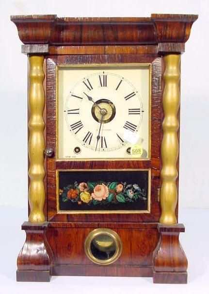 508: Seth Thomas Column Clock