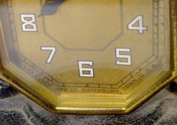 511: 2 Desk Clocks: Lux & Ingraham - 2