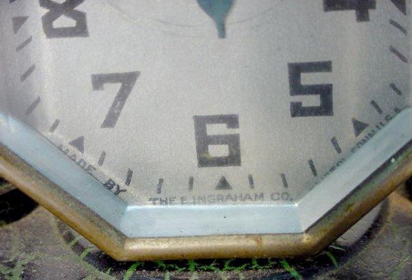 511: 2 Desk Clocks: Lux & Ingraham - 3