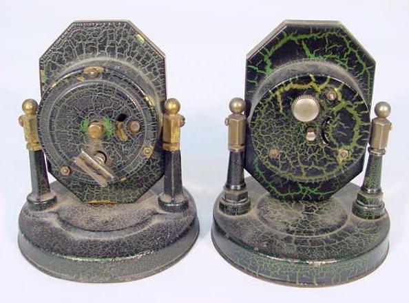 511: 2 Desk Clocks: Lux & Ingraham - 4