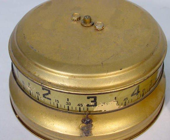 517: 2 U.S.A. Tape Measure Clocks - 2