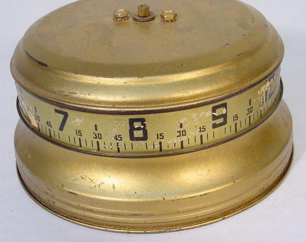 517: 2 U.S.A. Tape Measure Clocks - 3