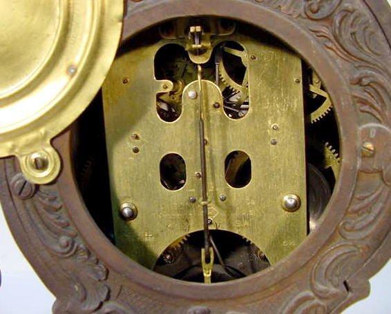 "531: Ansonia ""Composer"" Statue Clock - 4"