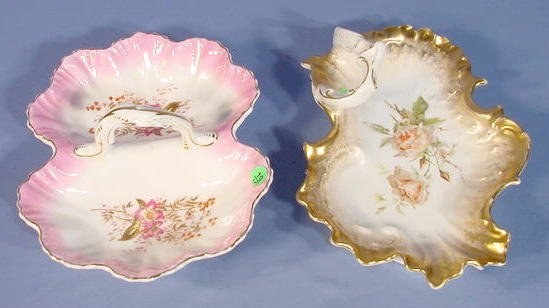 10: KPM & CT Floral Decorated Serving Dishes