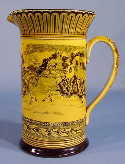 19: Royal Doulton English Tournament Jug