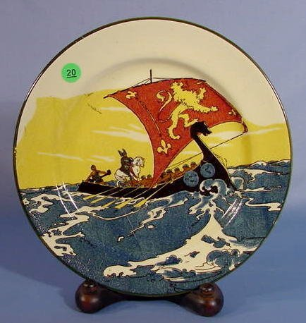 20: Royal Doulton Vikings Plate