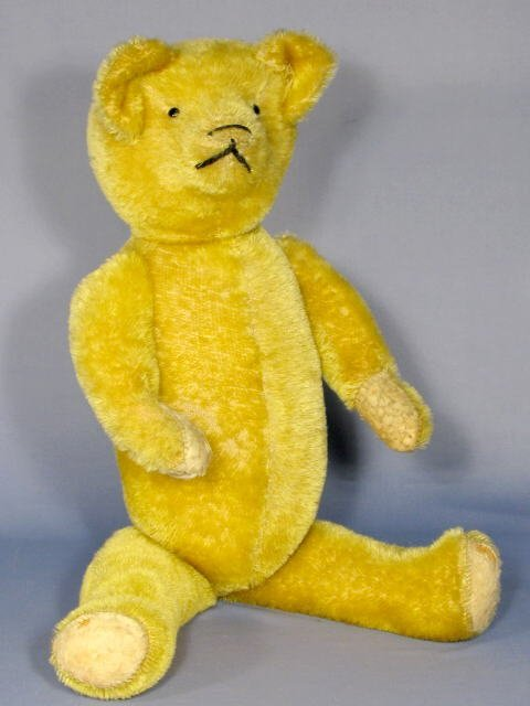 516: Mohair Teddy Bear w/Jointed Limbs