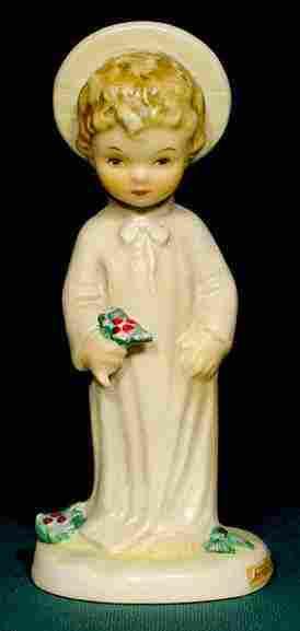 Goebel Hummel Christ Child & Holly Figurine NR