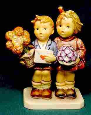 Goebel Hummel 50th Anniv Figurine Fully Marked NR