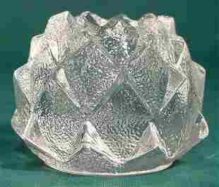 Orrefors Crystal Artichoke Candle Holder NR