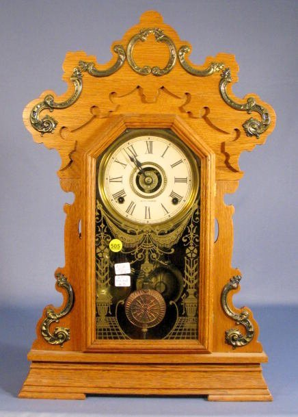 505: Seth Thomas Metals No.3 Clock