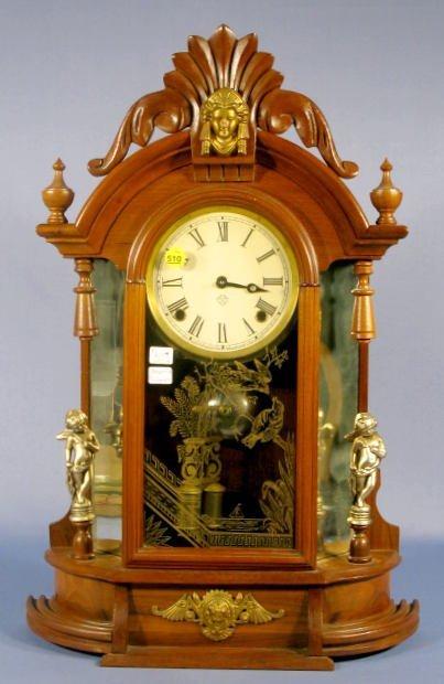 510: Ansonia Truimph Mirrorside Clock