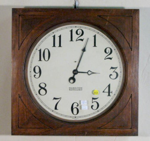 513: Hamilton Sangamo Electric Gallery Clock