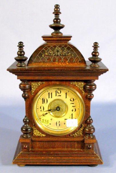 516: Junghans Music Box Cabinet Clock