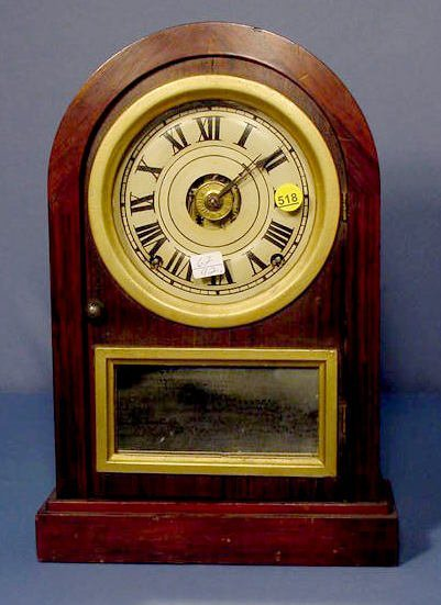 518: Seth Thomas Rosewood Mantle Clock w/Alarm