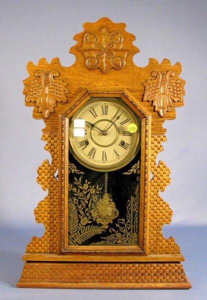 519: E. Ingraham Jasper Mantle Clock