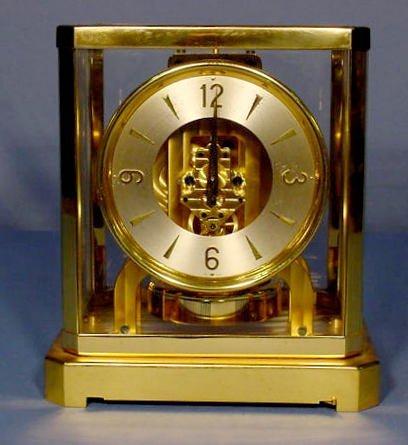 522: Le Coultre Atmos 15J Clock