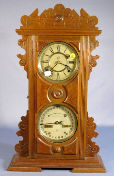 523: Waterbury Calendar Clock No.42
