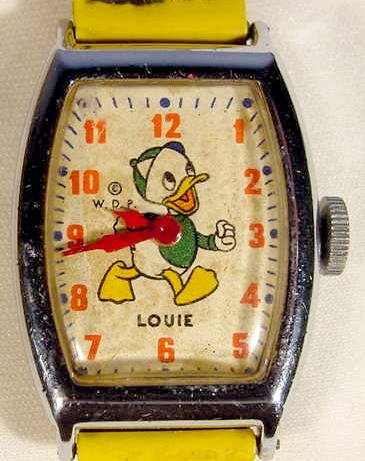 624: Louie The Duck Wrist Watch for Walt Disney Prod.
