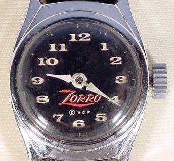 650: Zorro Wrist Watch by U.S. Time