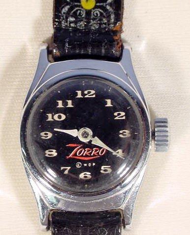 650: Zorro Wrist Watch by U.S. Time - 2