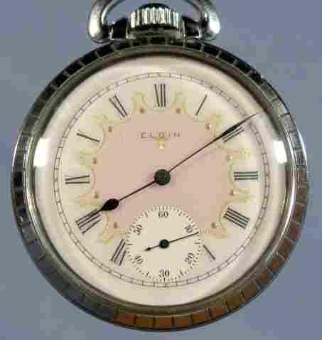 Elgin 17J 16S Pocket Watch