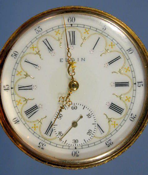 Elgin National 17J 16S Pocket Watch
