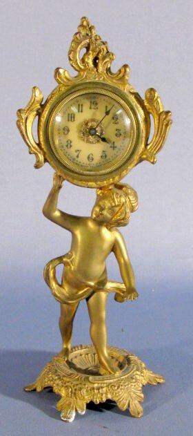 1: New Haven Figural Novelty Clock