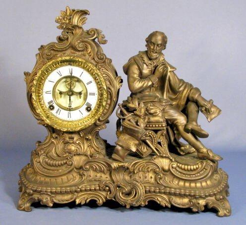 4: Ansonia Macbeth Statue Clock