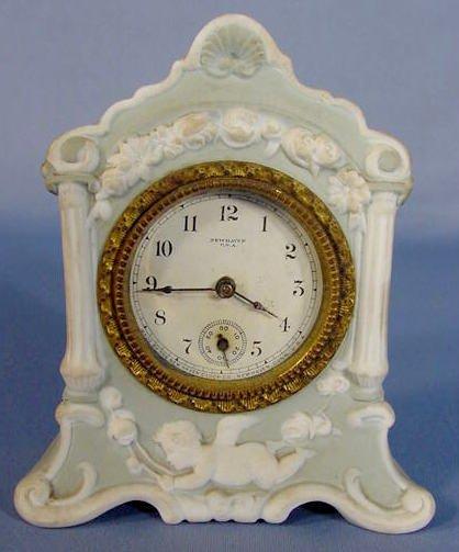 14: New Haven Lee Porcelain Clock