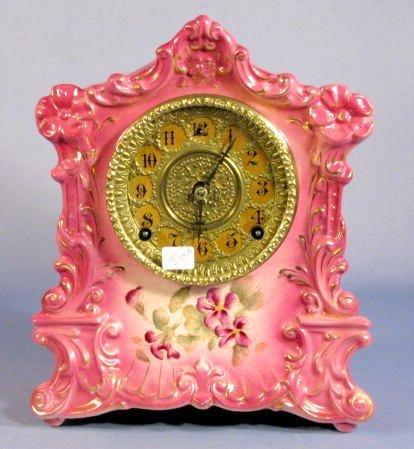 17: Gilbert No.420 Porcelain Clock