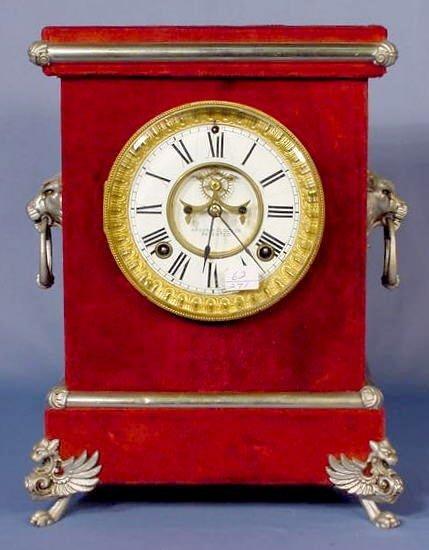18: Ansonia Florentine No.3 Plush Clock