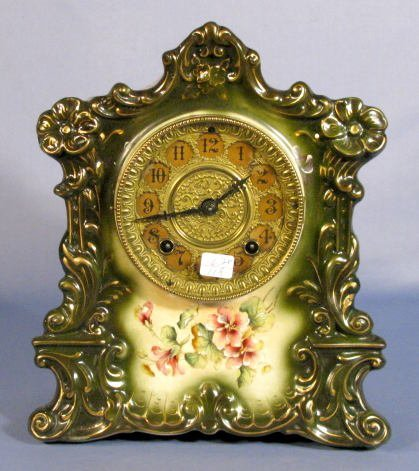 24A: Gilbert No.419 Porcelain Clock
