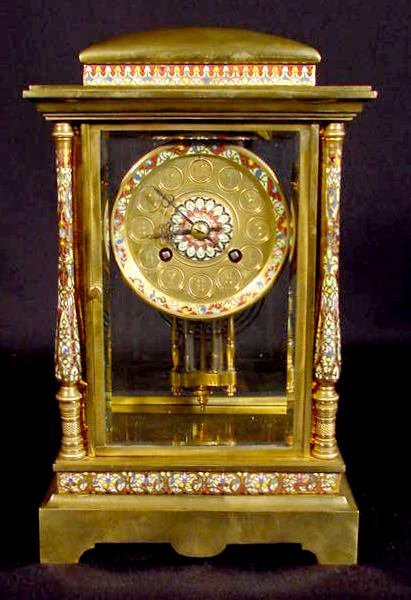 169: French Crystal Regulator w/Japy Freres Movement