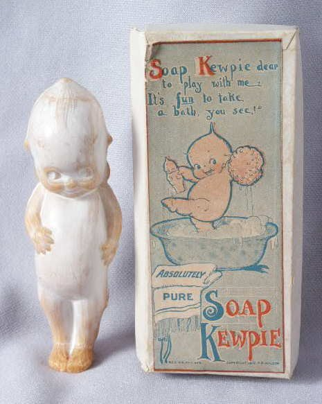 505: 1917 Kewpie Soap in Original Box NR
