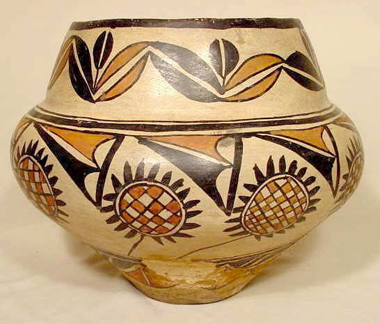 548: Native American Ceramic Olla NR