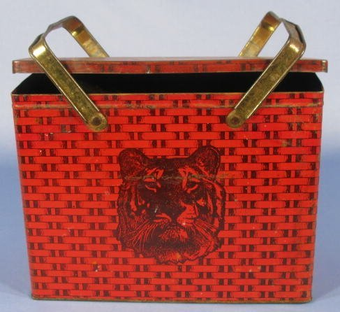 2: Tiger Chewing Tobacco Tin Lunch Box