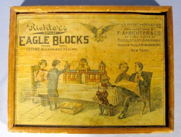 9: Richter's Popular Eagle Blocks, 1900