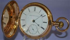 Elgin BW Raymond M24 1517J 18S Pocket Watch stem