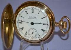 Columbus Railway King 23J, 18S Pocket Watch: LA, SW
