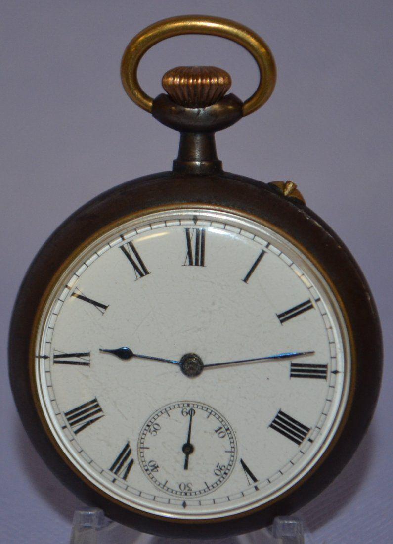 Rare Antique Swiss Calendar Pocket Watch