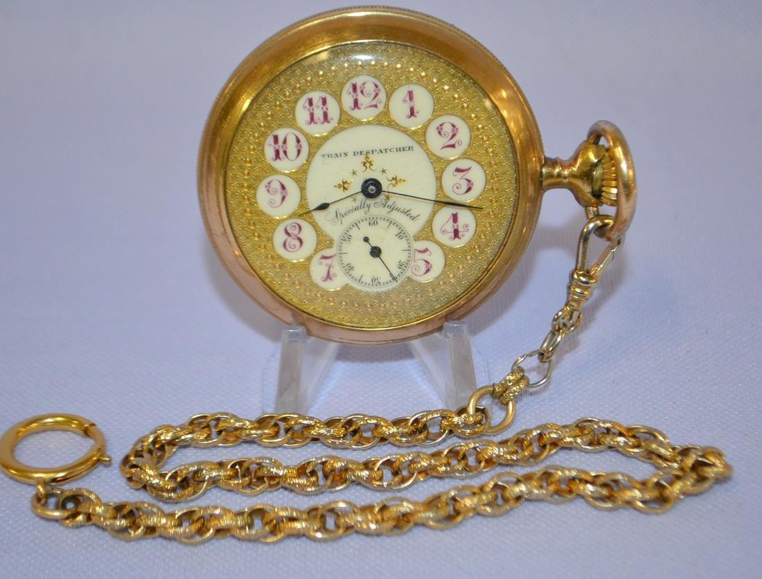 Vintage Missouri Pacific 18s 23J Pocket Watch