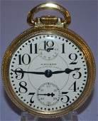 Waltham Vanguard 23J 16S WI OF Pocket Watch