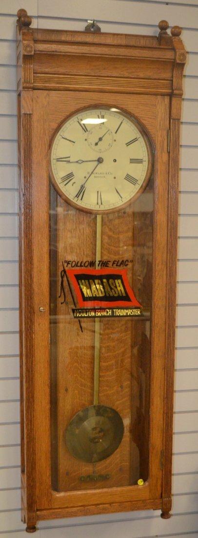 Howard #89 Oak Wall Regulator Clock
