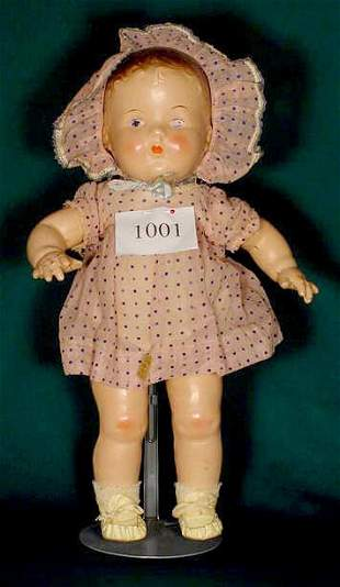All Compo Toddler Doll with Original Clothes NR