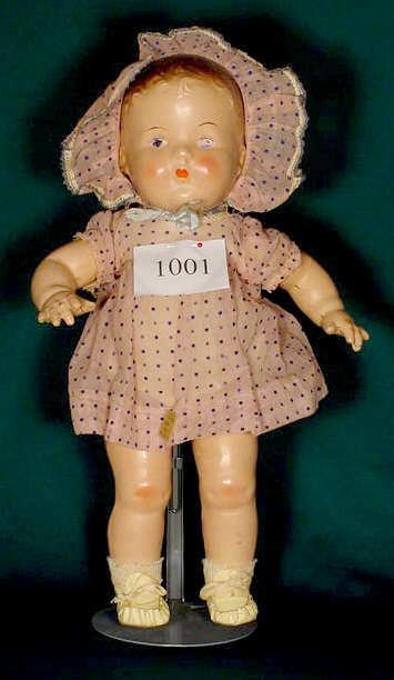 1001: All Compo Toddler Doll with Original Clothes NR